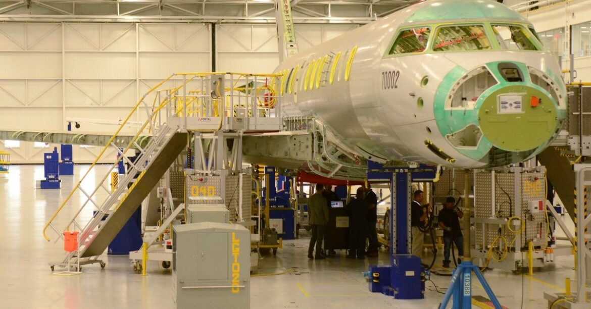 Bombardier union workers ratify 3-year agreement to end strike at Toronto plant