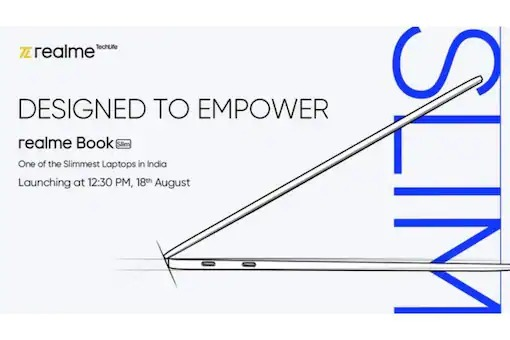Realme Book Slim Laptop Confirmed to Launch in India on August 18